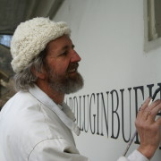 Schriftzug Bermhard Luginbühl