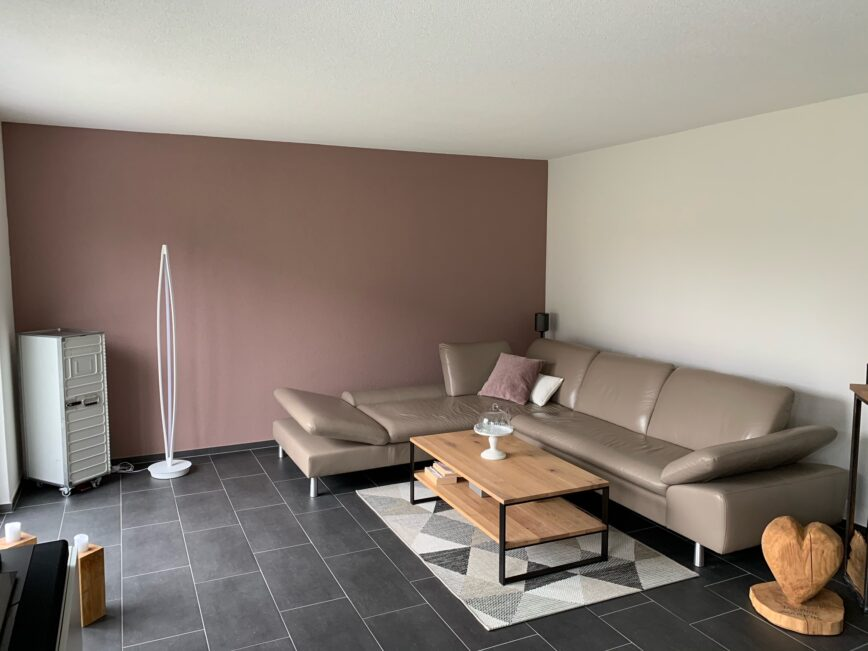 Farbiger Wohnraum